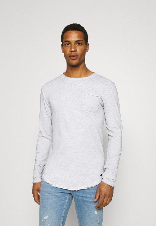 CHIBS - Maglietta a manica lunga - vintage concrete grey