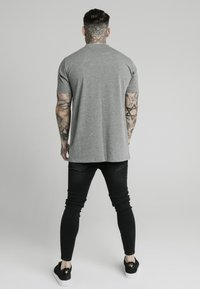 SIKSILK - SQUARE HEM TEE - Basic T-shirt - grey - 2
