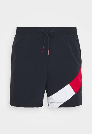 SOLID FLAG DRAWSTRING - Short de bain - blue