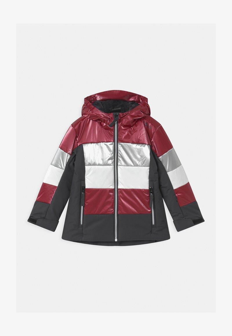 CMP - GIRL FIX HOOD - Lyžařská bunda - magenta