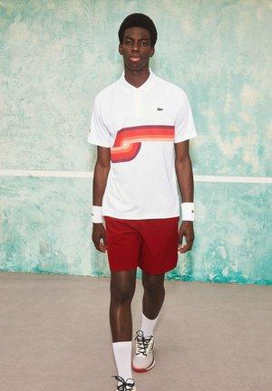 Sports shorts - rouge / bordeaux / rouge / rouge