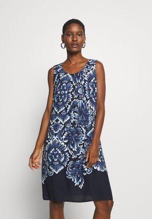 Day dress - classic blue/white