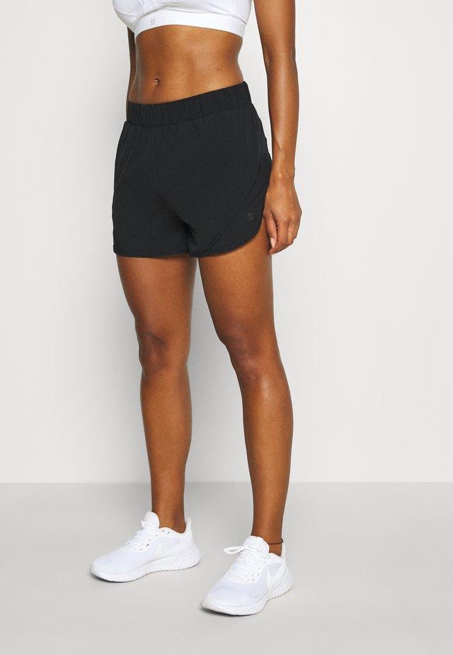 TRACK AND FIELD RUNNING SHORTS - Short de sport - black