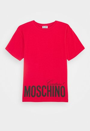 MAXI OVERSIZE - Print T-shirt - flame red