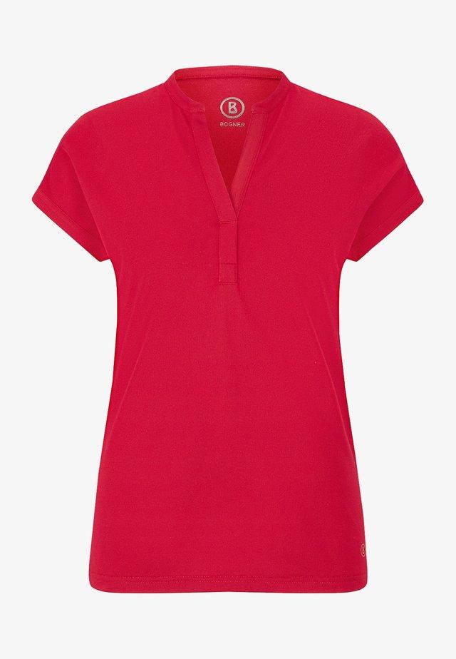 ELIN - Jednoduché triko - rot