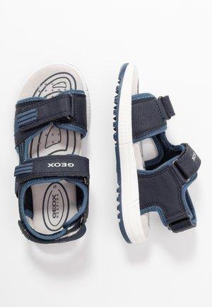 ALBEN BOY - Walking sandals - navy/avio