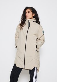 adidas Performance - MYSHELTER 4IN1 PARKA - Parkatakki - savannah - 0