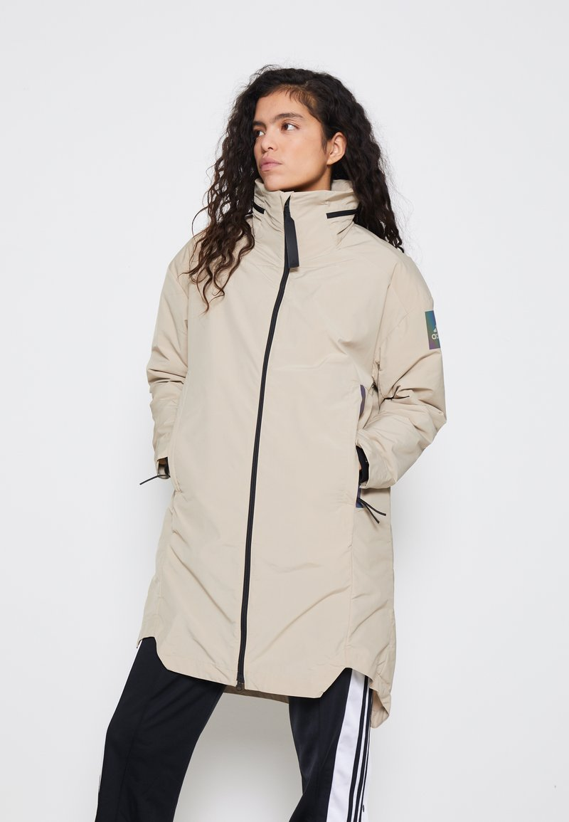 adidas Performance - MYSHELTER 4IN1 PARKA - Parkatakki - savannah