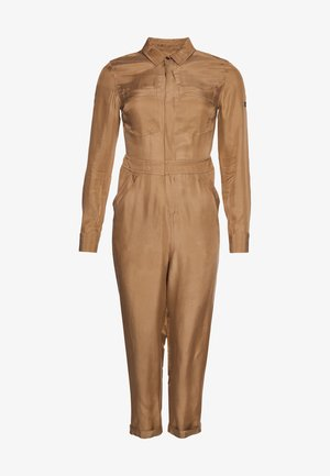 LONG SLEEVED - Jumpsuit - classic tan