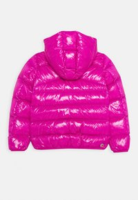 Colmar Originals - GIRL JACKET MADE BY SUPER SHINY FABRIC - Down jacket - mermaid/nero