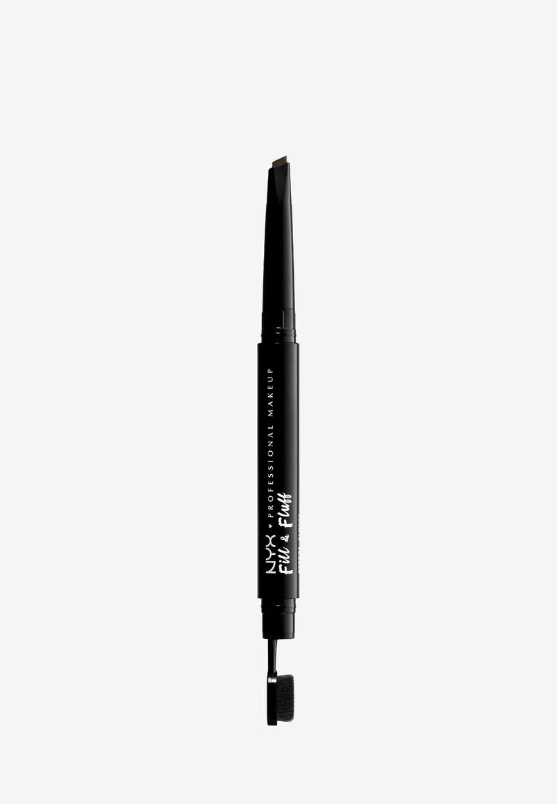 Nyx Professional Makeup - FILL&FLUFF EYEBROW POMADE PENCIL - Eyebrow pencil - 7 espreso