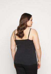 Vero Moda Curve - VMBIA SINGLET - Top - black - 2