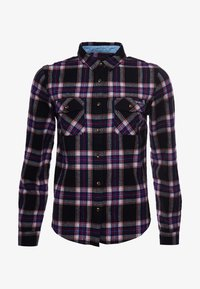 Superdry - CLASSIC - Button-down blouse - hatton check navy - 5