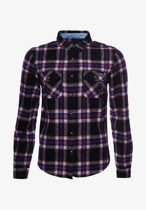CLASSIC - Button-down blouse - hatton check navy