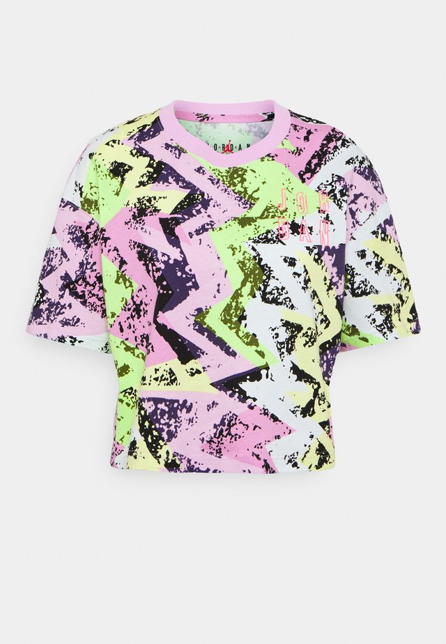 HEATWAVE BOXY TEE - T-shirt con stampa - arctic pink