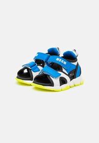 MSGM - UNISEX - Sandals - blue/white - 1