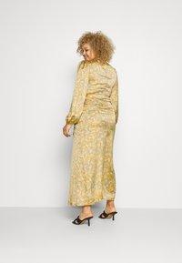 Never Fully Dressed - SIDE SPLIT PETAL PRINT MIDI - Maxi dress - multi - 2