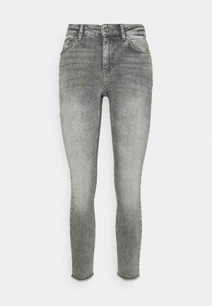 ONLBLUSH LIFE MID - Jeans Skinny Fit - grey