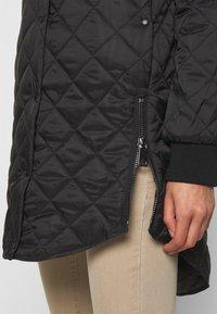 Vero Moda - VMHAYLE JACKET - Short coat - black - 4