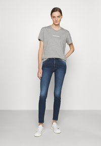 7 for all mankind - ILLUSION ABOVE - Jeans Skinny Fit - mid blue - 1