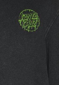 Santa Cruz - EXCLUSIVE TOXIC DOT HOODIE UNISEX - Sweatshirt - black - 6