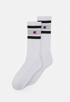 CREW 2 PACK UNISEX - Sports socks - white