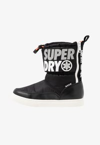 Superdry - JAPAN EDITION - Winter boots - black - 1
