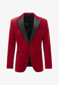 BOSS - HELWARD4 - Blazer jacket - dark red - 4