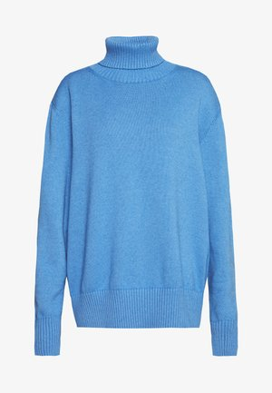ROLL NECK - Jumper - blue