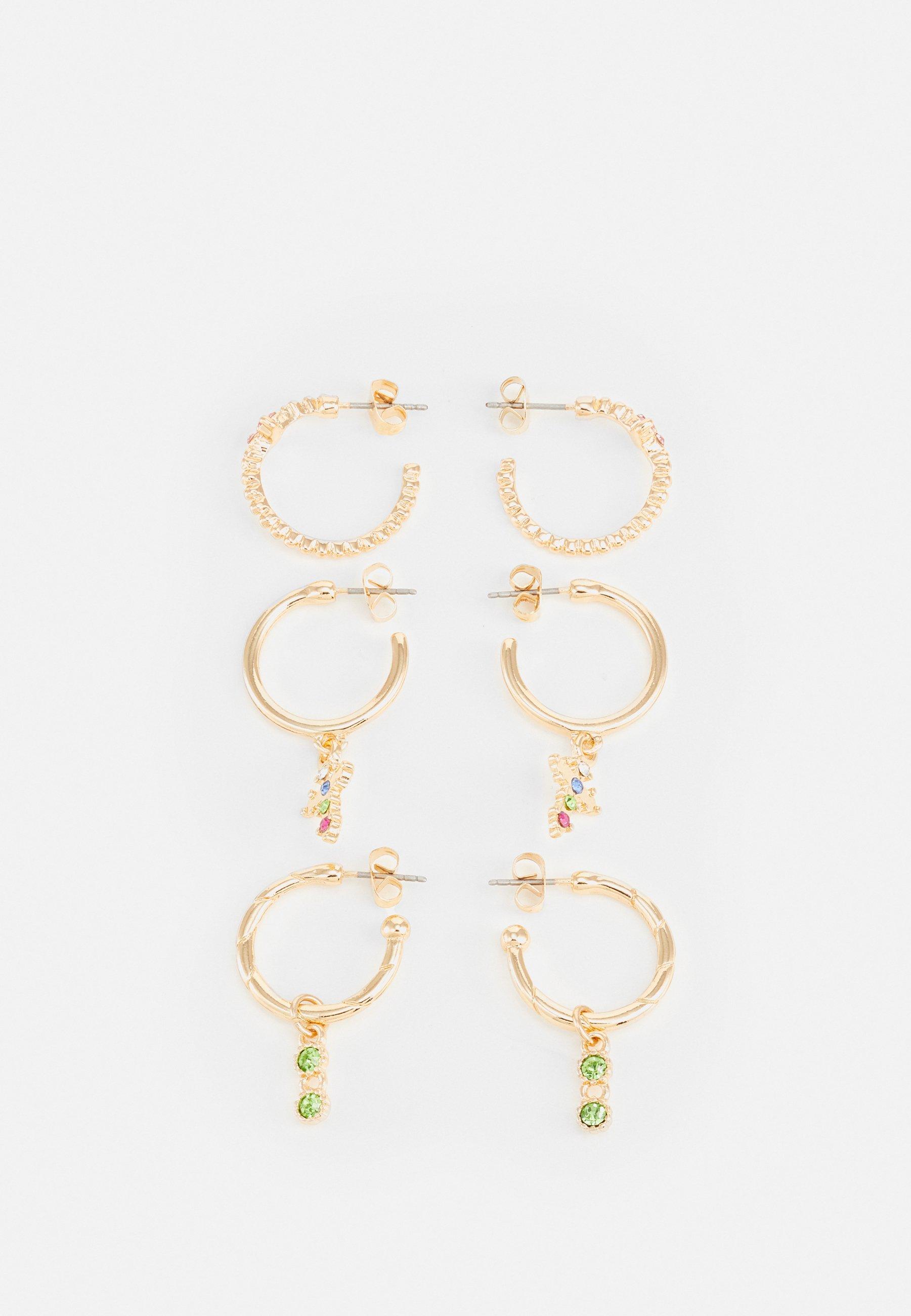 Women PCMINIA EARRINGS 3 PACK - Earrings