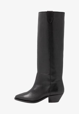 HUNTER HIGH BOOT - Vysoká obuv - black