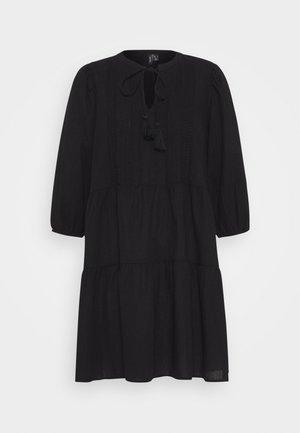 VMMUSTHAVE BOHO 3/4 TUNIC  - Denní šaty - black