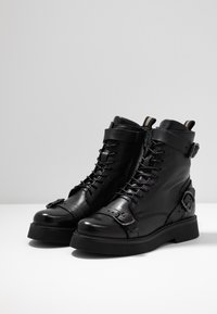 MJUS - Kovbojské/motorkářské boty - nero - 4