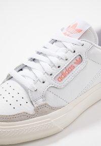 adidas Originals - CONTINENTAL - Sneakers - footwear white/glow pink - 5