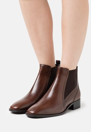 Ankle boots - chocolate