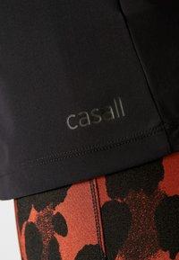 Casall - CASALL VISION STRAP RACERBACK - Topper - black - 6