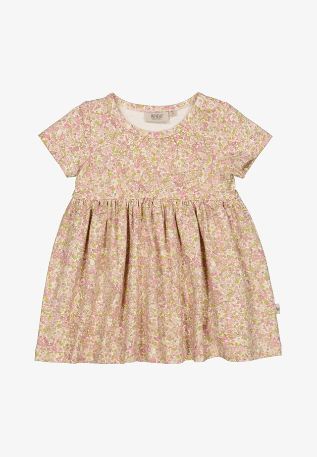 Day dress - bees and flowers