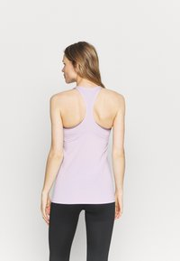 Nike Performance - TANK ALL OVER  - T-shirt sportiva - iced lilac/white - 2