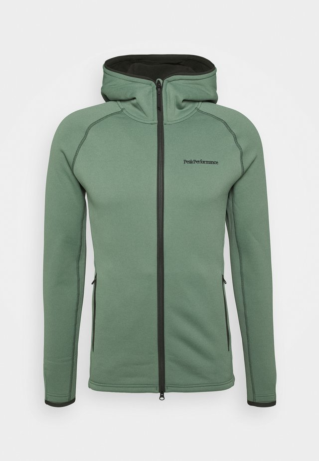 CHILL ZIP HOOD - Giacca in pile - fells view