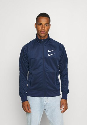 Training jacket - midnight navy/silver foil