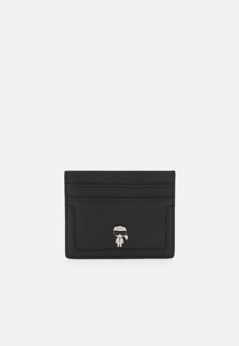 KARL LAGERFELD - IKONIK 3D PIN CARD HOLDER - Business card holder - black