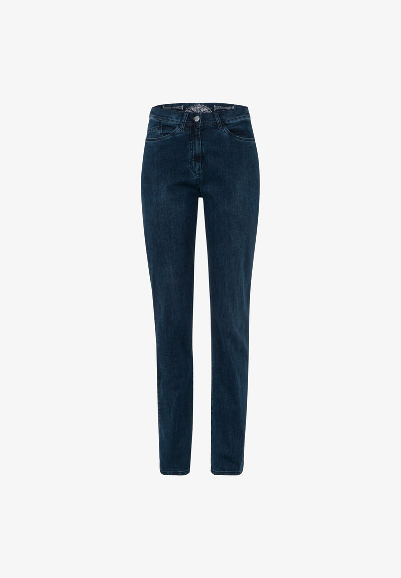 BRAX - STYLE LAURA SLASH - Slim fit jeans - stoned mit effekt