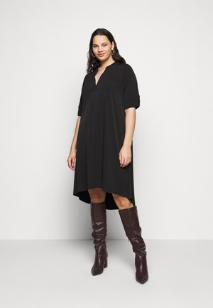 POCKET DRESS - Korte jurk - black