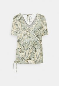 Cream - LULLA - Print T-shirt - desert sage - 1