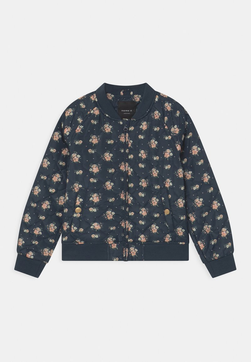 Name it - NKFMARIE QUILT - Bomber Jacket - midnight navy