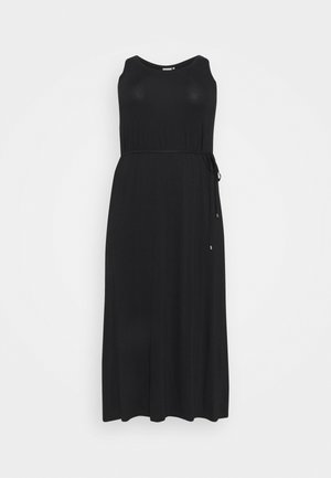 SILLA DRESS - Jersey dress - black deep