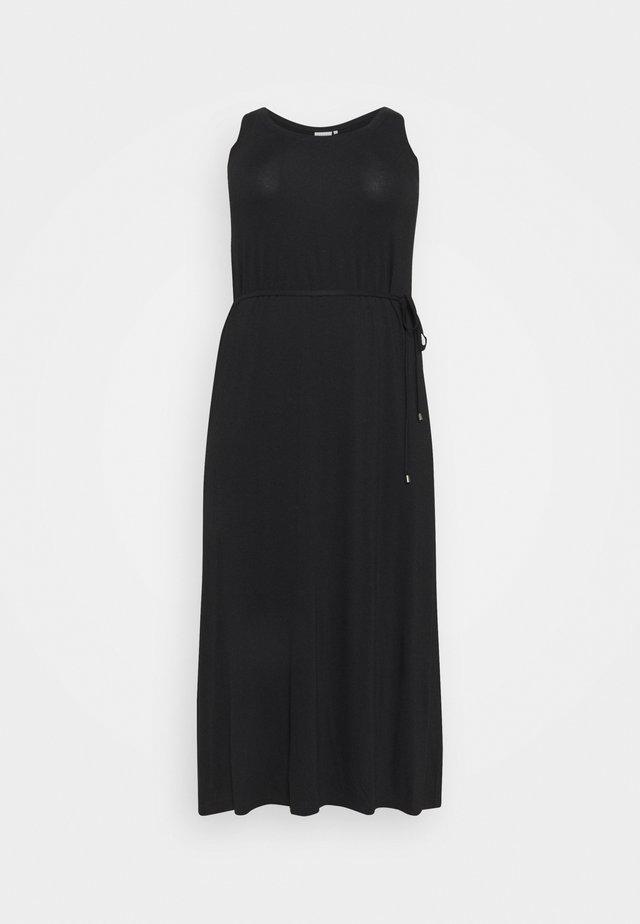 SILLA DRESS - Sukienka z dżerseju - black deep