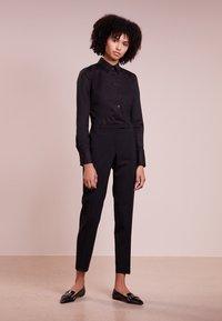 HUGO - ETRIXE - Button-down blouse - black - 1