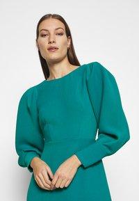 Closet - PEP HEM PENCIL DRESS - Shift dress - blue - 3