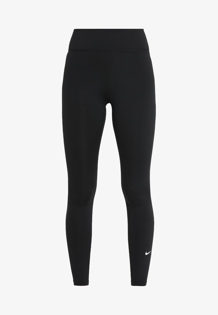 Nike Performance One Leggings Black White Zalando Co Uk